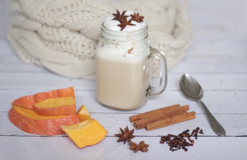 Herbstlicher Pumpkin Latte