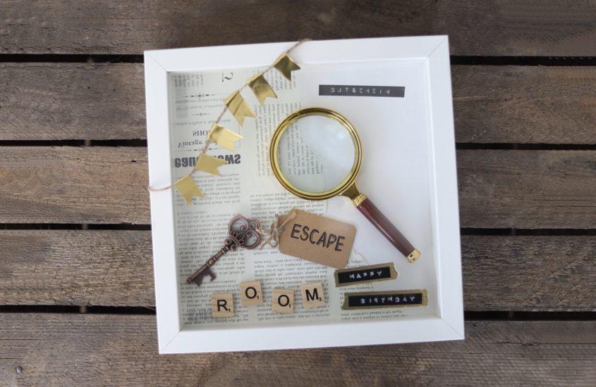 Geschenkidee (für Männer): Escape Room Gutschein