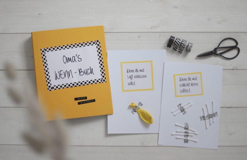 Geschenk-Idee: Persönliches WENN-Buch